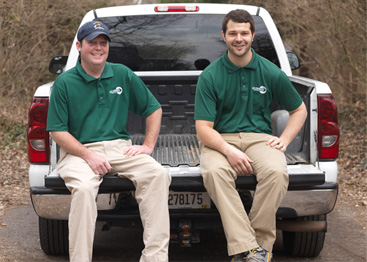 go green owners ryan cecil and brad moody
